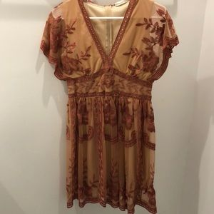 Altar'd State Lace Midi Dress